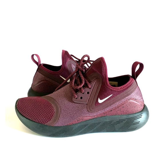 533737dbc5 Nike Shoes | Lunarcharge Essential Night Maroon Color | Poshmark